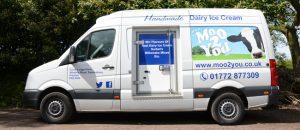 Moo2You Delivery Van