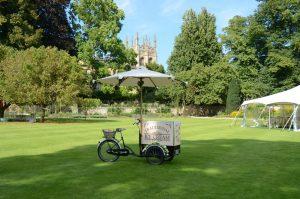 Ice Dream Wedding - Oxford Masters' Garden