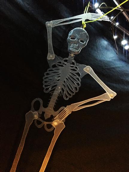 Spooky Room Skeleton